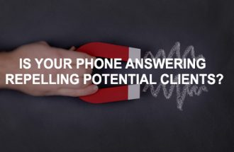 Converting Enquiries: Is your phone answering approach repelling your potential clients?