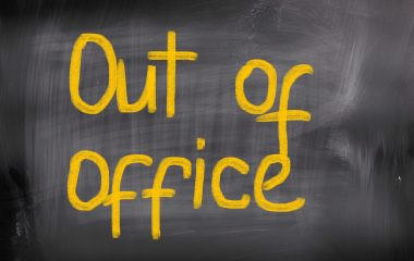 Get out of the office!
