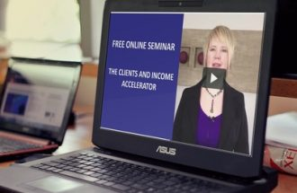 FREE ONLINE SEMINAR: The Clients And Income Accelerator: How To Get More Clients And Increase Your Income In The Next 90 Days 27 June 2018 9am-10.30am